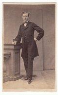 0364 CDV Photografie: Ort U. Fotograf Unbekannt - Portrait, Feiner Herr Mann Homme Man Gentleman - Old (before 1900)