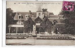 CPA 17200 ROYAN  :  ST Palais - Hostellerie De Rohan Dans Le Parc Des Fées  1936? - Royan
