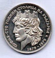 BULGARIA, 20 Leva, Silver, Year 1979, KM #106a - Bulgarije