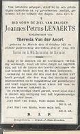 PK 57/   °  MEERLE 1831 + 1914   JOANNES LENAERTS - Religion & Esotérisme