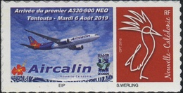 Nouvelle Calédonie - Timbre Personnalisé - Airbus A330 - Aircalin - Unused Stamps