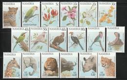 NAMIBIE - N°818/835 ** (1997) Faune Et Flore - Namibia (1990- ...)