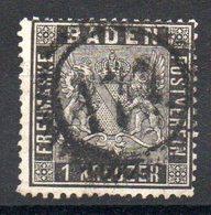 BADE - YT N° 9 - Cote: 35,00 € - Baden