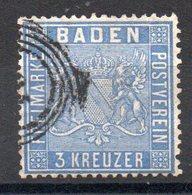 BADE - YT N° 10 - Cote: 25,00 € - Baden