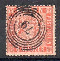BADE - YT N° 11a - Cote: 100,00 € - Baden