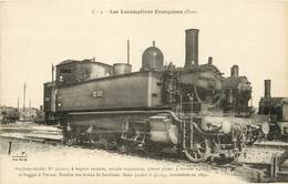 LES LOCOMOTIVES FRANCAISES - MACHINE N° 32.001 - Eisenbahnen