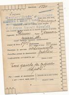 1942 GRADO REGGIMENTO R. MARINA S MARCO BATTAGLIONE GRADO CC FORZE NAVALI SPECIALI - Posta Militare (PM)