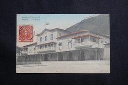 """VENEZUELA - Oblitération Ligne Maritime """" Bordeaux à Colon """" En 1916 Sur Carte Postale De Aduana - L 61168 - Venezuela"""