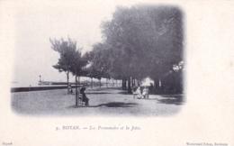 17 - Charente Maritime - ROYAN - Les Promenades Et La Jetée - Carte Precurseur - Royan