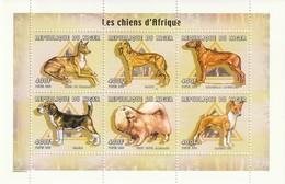 NIGER - N°1547/52 ** (2000) Chiens - Niger (1960-...)