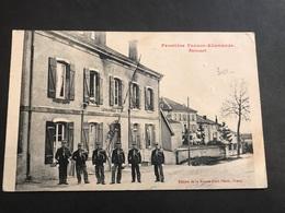 CPA 1900 Frontière Avricourt Peloton Gendarmerie - Francia