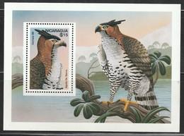 NICARAGUA - BLOC N°249 ** (1995) OISEAUX - Nicaragua