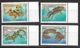 Somalia 1996 Amphibians  MNH - Somalia (1960-...)
