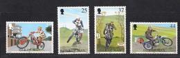 Île De Man 1997 Yvertn° 773-776 *** MNH Cote 6,50 Euro Motocyclistes - Man (Insel)