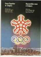 JO88-H/L1 - Carte Postale Jeux Olympiques Calgary 1988 - Olympic Games