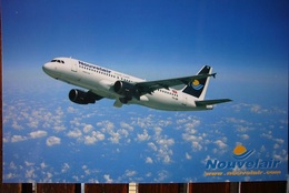 Avion / Airplane / Nouvelair / Airbus A320 / Airline Issue / Size 11,5x17,5 Cm - 1946-....: Ere Moderne