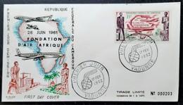 CAMEROUN - ENVELOPPE - N° 52 (poste Aérienne) - PREMIER JOUR D'EMISSON - FONDATION D'AIR AFRIQUE - Camerun (1960-...)
