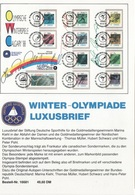 JO88-H/L2 - Carte Postale Jeux Olympiques Calgary 1988 - Olympic Games