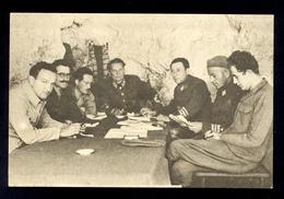 YUGOSLAVIA 1951 - Commemorative Card With Image Of TITO And Other Members Of Headquarters, Commemorative Cancel And Stam - 1945-1992 République Fédérative Populaire De Yougoslavie