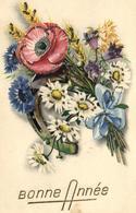 Fantaisie - Fleurs - Marguerite - Coquelicot - Chardon - Epis De Blé - 1688 - Fiori, Piante & Alberi