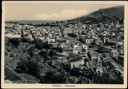 USTICA (PA) PANORAMA (LEGGERE PIEGOLINE) 1954 - Palermo