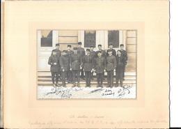 SAVERNE : Photo Officiers De La 10 Ième BCP - Guerre, Militaire