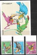 Somalia 2003 Parrots MNH - Somalia (1960-...)