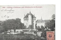 ORLHONAC    PRES VILLEFRANCHE DE ROUERGUE  TIRAGE 1900  DEPT 12 - Autres Communes