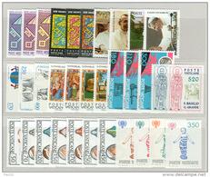 Vaticano 1978/84 Collezione Completa / Complete Collection  G.P.II MNH/** - OCCASIONE - Full Years