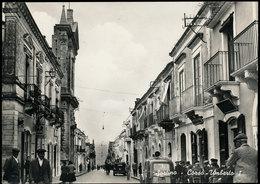 SORTINO (SIRACUSA) - CORSO UMBERTO - MOLTO ANIMATA 1966 - Siracusa