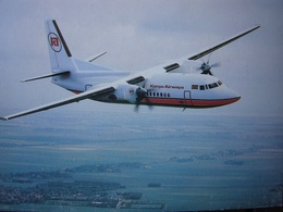 Avion / Airplane / KENYA AIRWAYS / Fokker 100 / Airline Issue - 1946-....: Ere Moderne