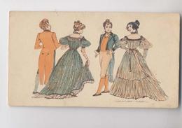 DANSE - QUADRILLE - Époque Louis Philippe - Publicité Chocolat Devinck - Dance - Danza