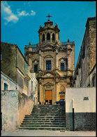 SORTINO (SIRACUSA) - CHIESA DELLE BENEDITTINE DEL SS. SACRAMENTO 1970 - Siracusa