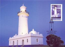 POSTAGE PRE PAID AUSTRALIA SET 4 PIECES COLLECTION 1997  POST CARD MAXIMUN  (MAGG200418) - Leuchttürme