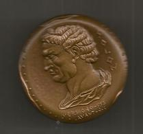Médaille , NOTORIAT FRANCAIS , CAISSE DES DEPOTS , SOLON ,640-658 Avant J.C. , P. Rodier, 2 Scans , Frais Fr 4.95 E - Firma's