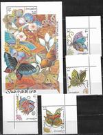 Somalia 1997 Butterflies  MNH - Somalia (1960-...)