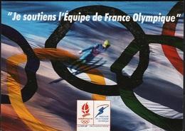 JO92-H/L3 - CPM Soutiens De L'équipe Olympique Albertville 1992 - Olympic Games