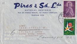 PORTUGAL 1958 PLI AERIEN DE BATALHA POUR ZURICH - 1910-... Republic