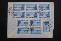 VIÊTNAM - Enveloppe De Hué Pour Paris En 1952, Affranchissement Plaisant Au Verso - L 61188 - Vietnam