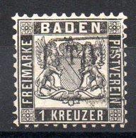 BADE - YT N° 16  - Cote: 20,00 € - Baden