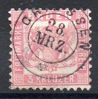 BADE - YT N° 17  - Cote: 5,00 € - Baden