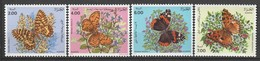 ALGERIE - N°1005/8 ** (1991) Papillons - Algerien (1962-...)