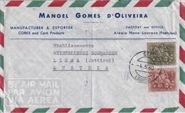 PORTUGAL 1960 PLI AERIEN DE LOUROSA - 1910-... République