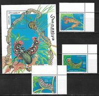 Somalia 1999 Caterpillars  MNH - Somalia (1960-...)