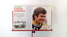 Ancienne Coupure De Presse Automobile De 1988 Luis Perez Sala - Car Racing - F1