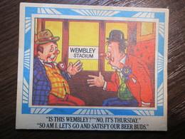 Wembley Stadium Comic Humour Vintage PC - Humor