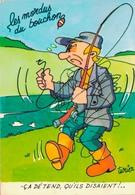 HUMOUR PECHEUR / LES MORDUS DU BOUCHON Par CLAUDE TURIER - Humor