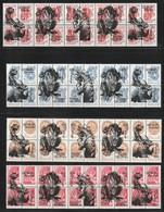 GEORGIA Republic - Animaux Préhistoriques (en Surcharge Sur Timbres De Russie) - NON OFFICIEL - - Stamps