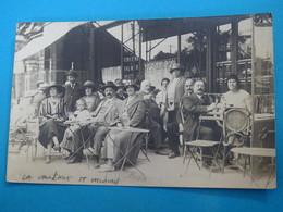94 ) La Varenne-saint-hilaire - Carte Photo : Bar  : Année 1924 : EDIT : Martincourt - Autres Communes