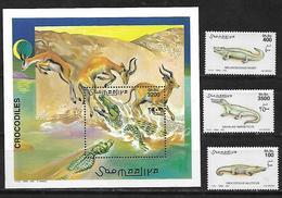 Somalia 2000 Crocodiles  MNH - Somalia (1960-...)
